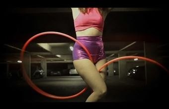 Hoopdance Demo in 4K GH4 - Lila Chupa-Hoops